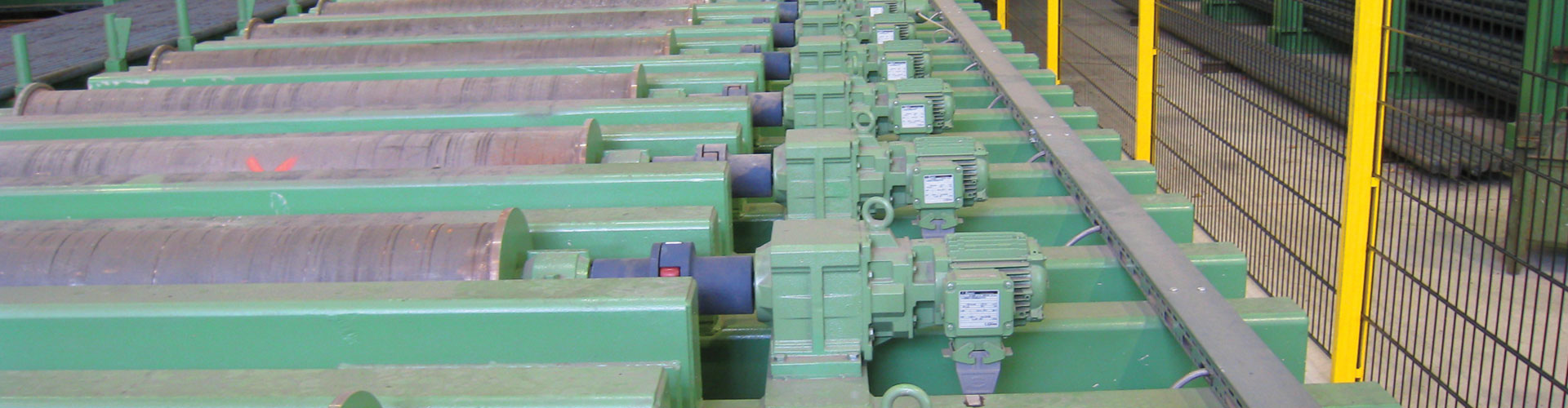 Annealing Lines Metal Processing Banner