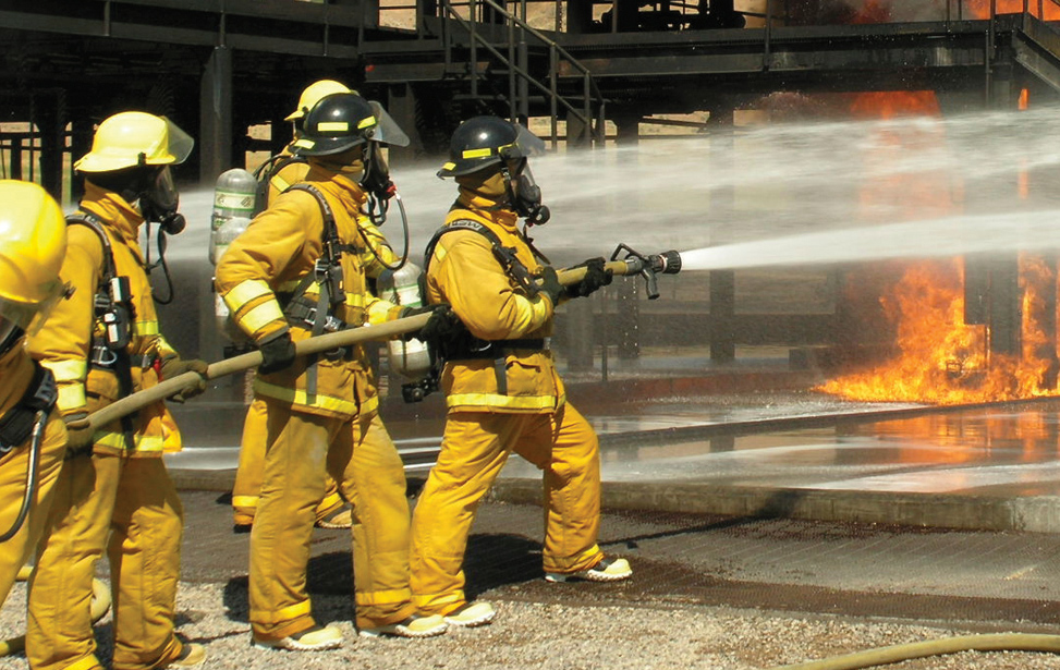 Firemen Fire Fighting Fiber Polymer Equipment